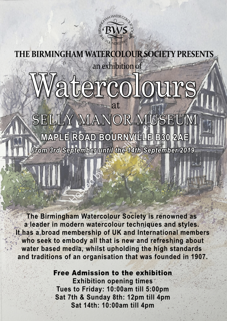 BWS Selly Manor Exhibition Poster