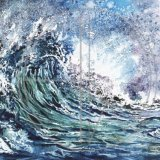 Wave ll Original Watercolour (SOLD - A3 prints available)