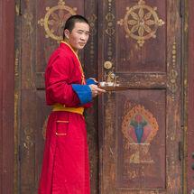 Mongolia - Gandan monk