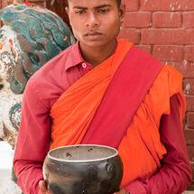 Nepal - Begging bowl