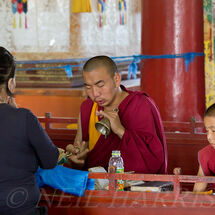Mongolia - Monastery prayers