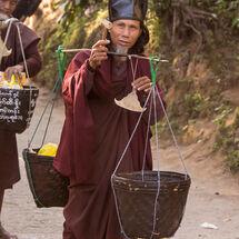 Hermit monk
