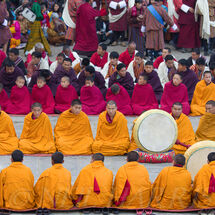Monks and drums