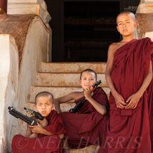 Novice monks liberation front