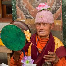 Flower power monk