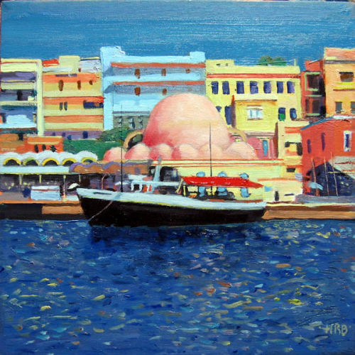 Black Ship and Mosque, Chania