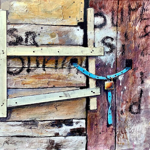 Untitled (Blue Strap)