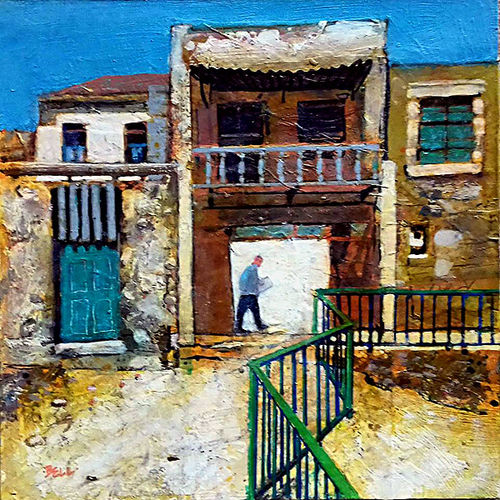 Old Buildings, Crete.