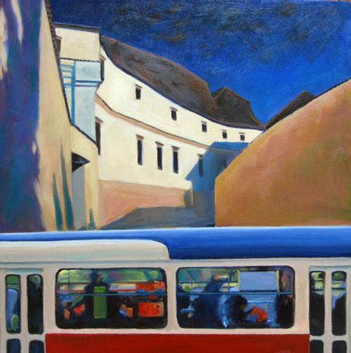 Prague Tram No.4