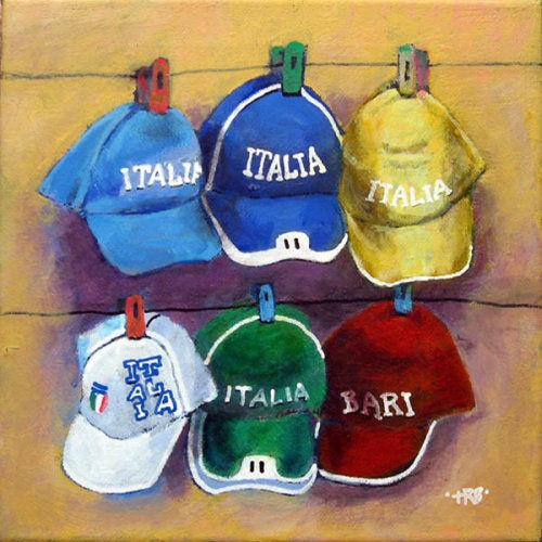 Six Italian Caps