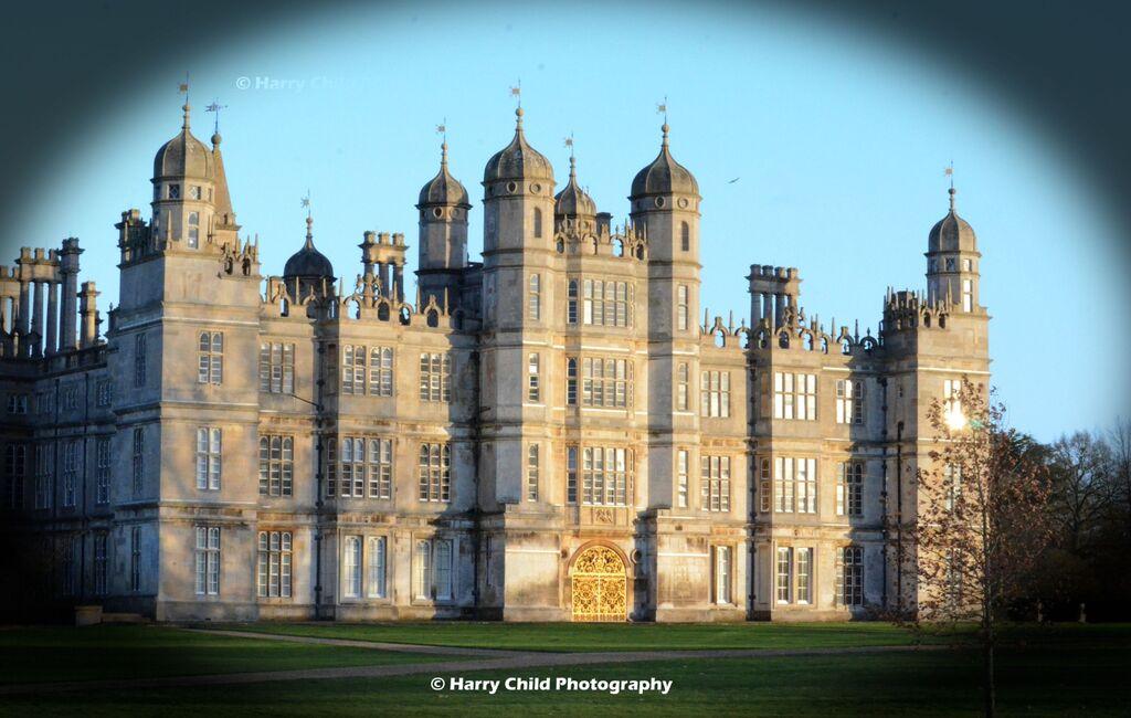 Burghley House Golden Gates Vignette
