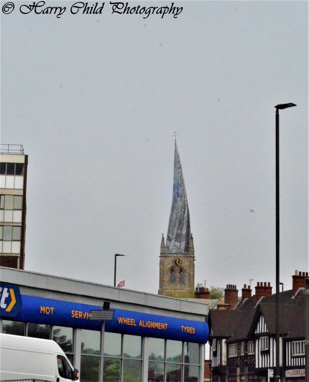 The Crooked Spire (Cityscape)