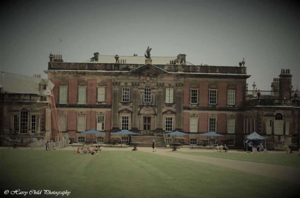 Wentworth Woodhouse, Jacobean House (in restoration) Burlesque Tone
