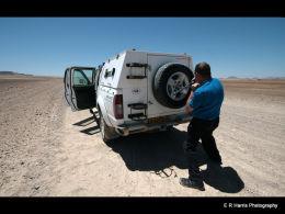 Blow Out  Namib Desert