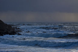 Storm at Sunset - Portland
