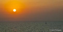 Mediteranian sunrise