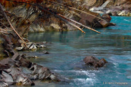 Meltwater river BC