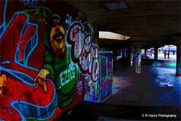 Skateboard alley - West bank, London