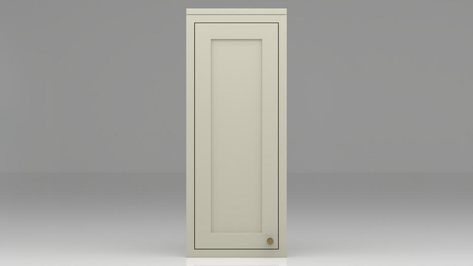 Single dresser cabinet