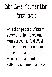 Ranch Rivals foreword