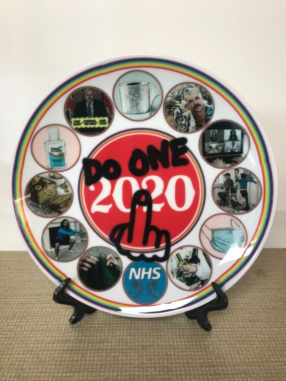 2020 Commemorative Plate