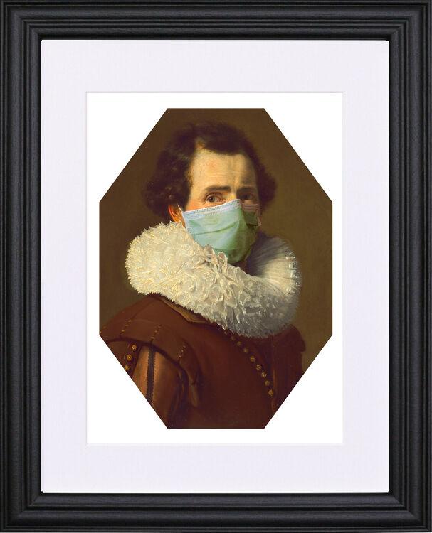 Masked Man black frame