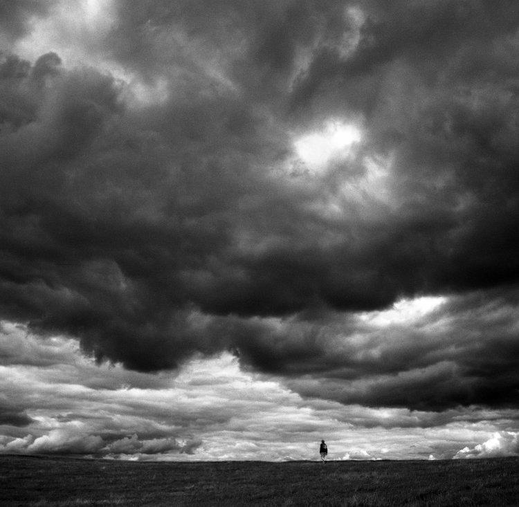Figure and Cloudscape