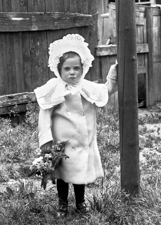 Portrait of a young girl c.1906