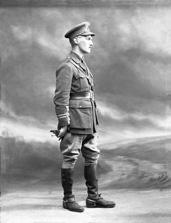 Captain A J Conway (Cheshire Regiment) 26th July 1916