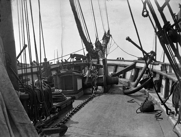 Deck of a ship, Folkestone c.1908