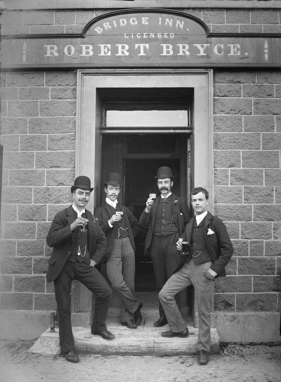 The Bridge Inn, Ratho, Scotland c.1895