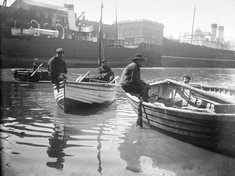 Folkestone harbour c.1908
