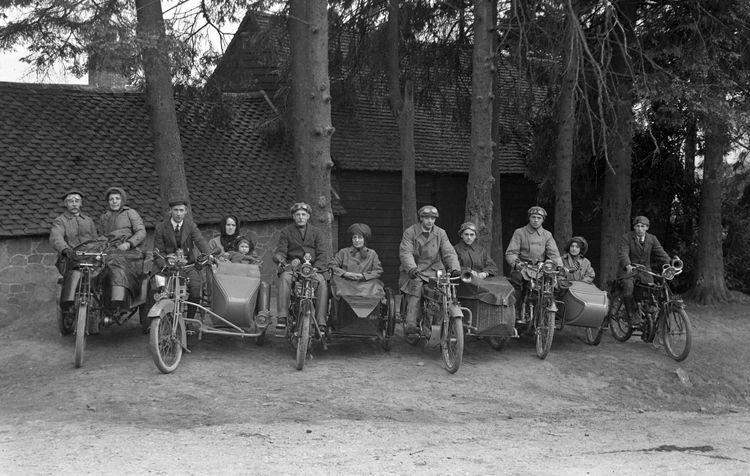 Motorcyclists c.1912