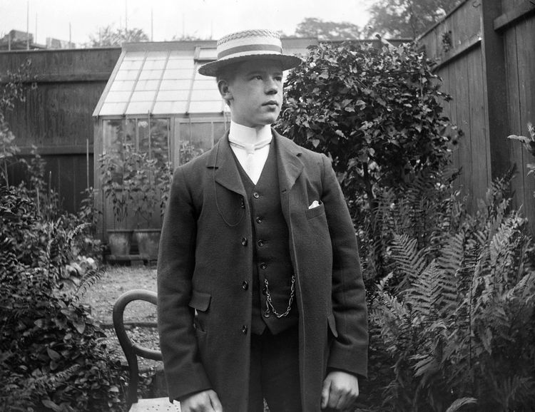 Portrait of a young man, Norfolk c.1905