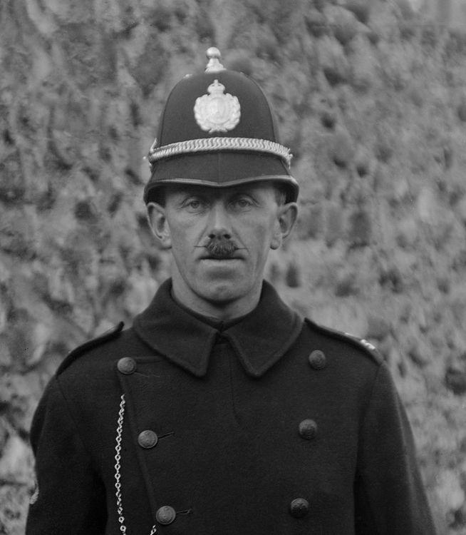 Portrait of a policeman, Wales c.1905