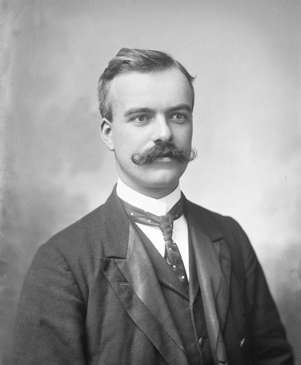 Portrait of a man, Scotland c.1907