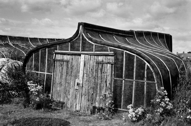 Boat shed, Lindisfarne