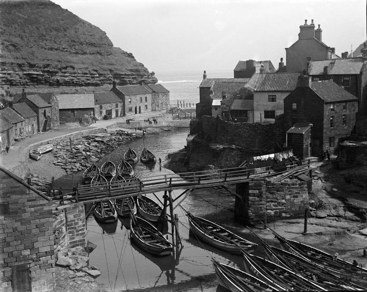 Staithes, Yorkshire c.1903