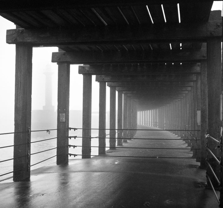 Under Whitby Pier
