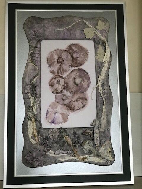 mushrooms applique