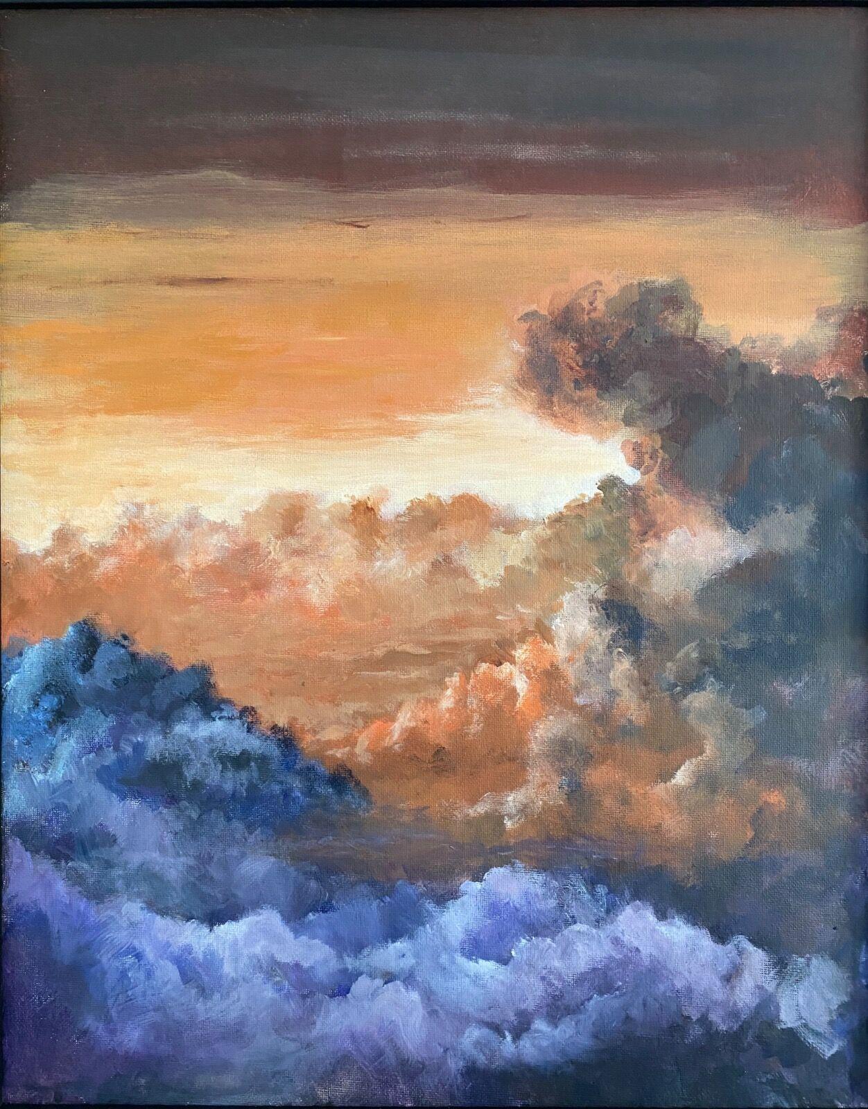 Cloudscape painting