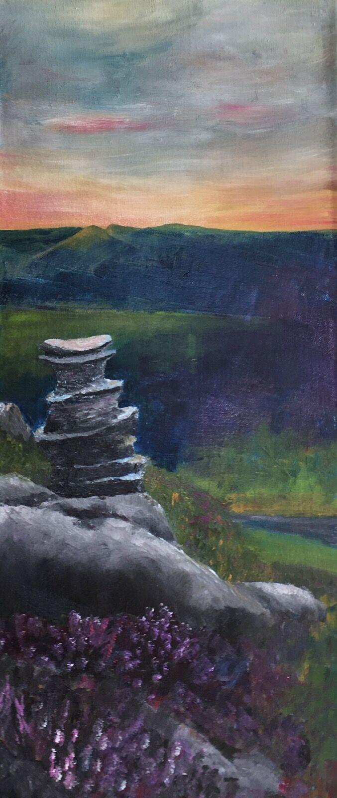 Derwent Edge painting
