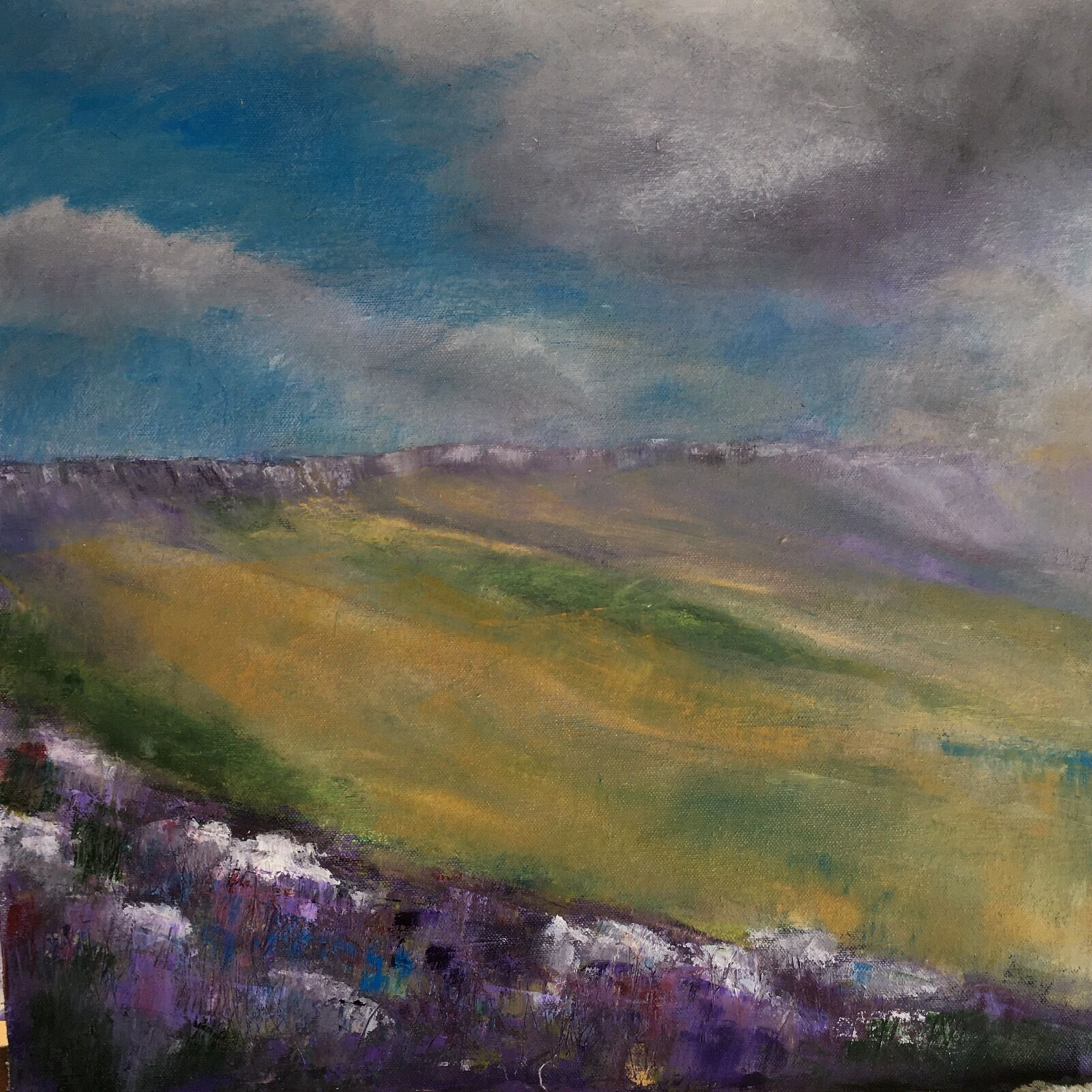 Derbyshire edge painting
