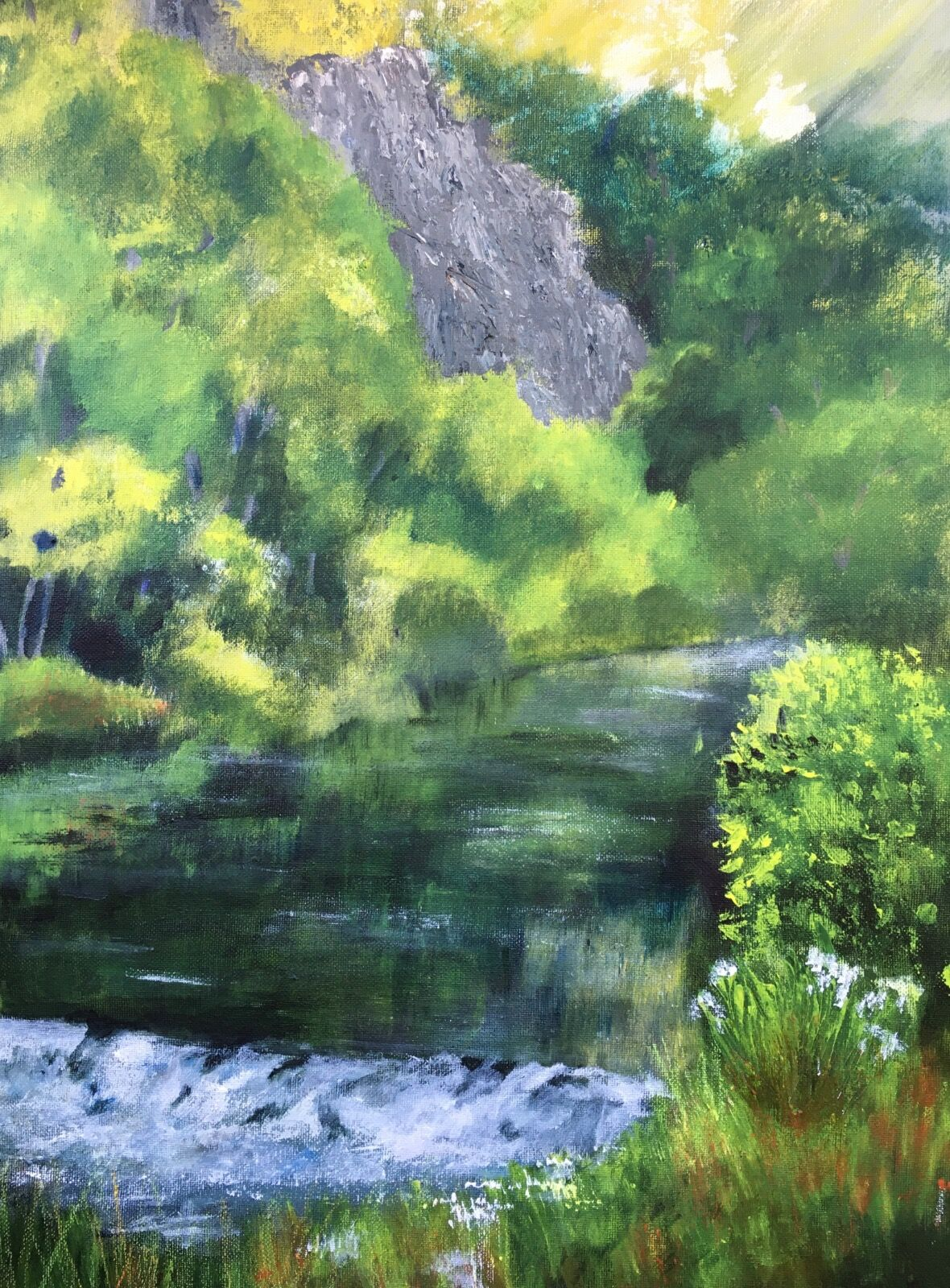 Dovedale painting