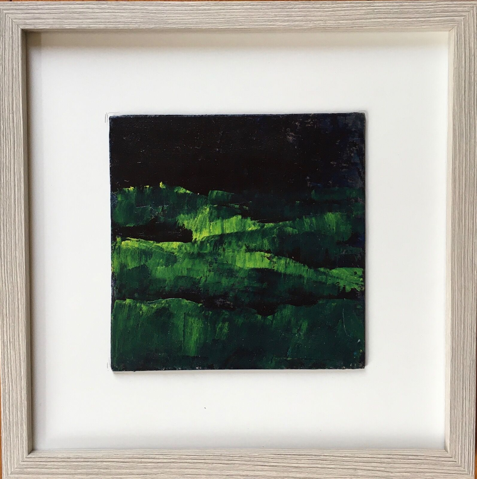 Green Hills abstract landscape