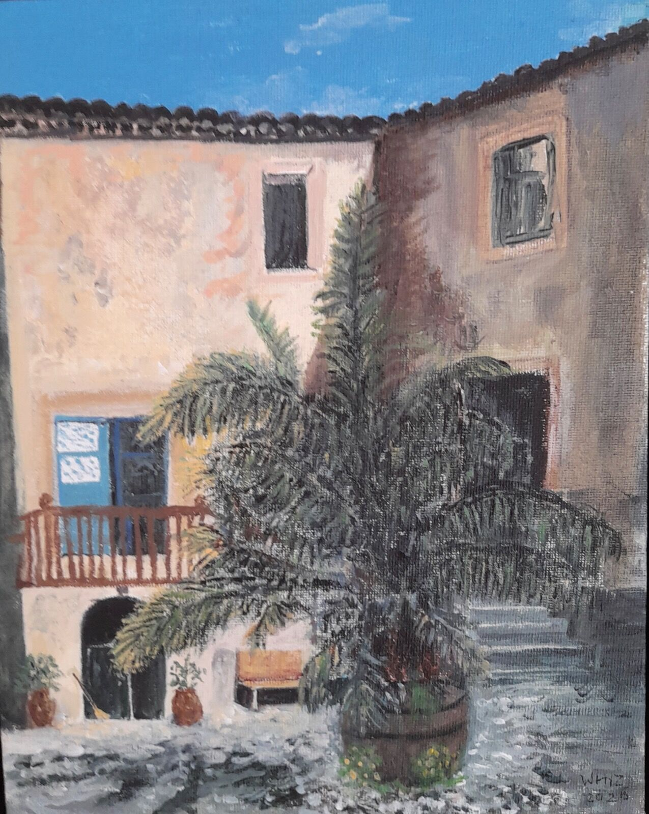 Courtyard Mallorca