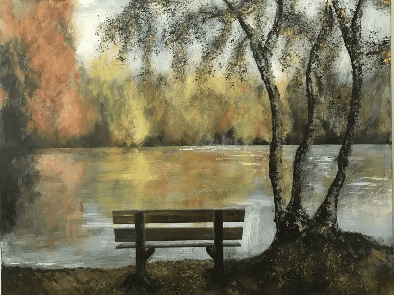 Hartsholme park Lincoln painting