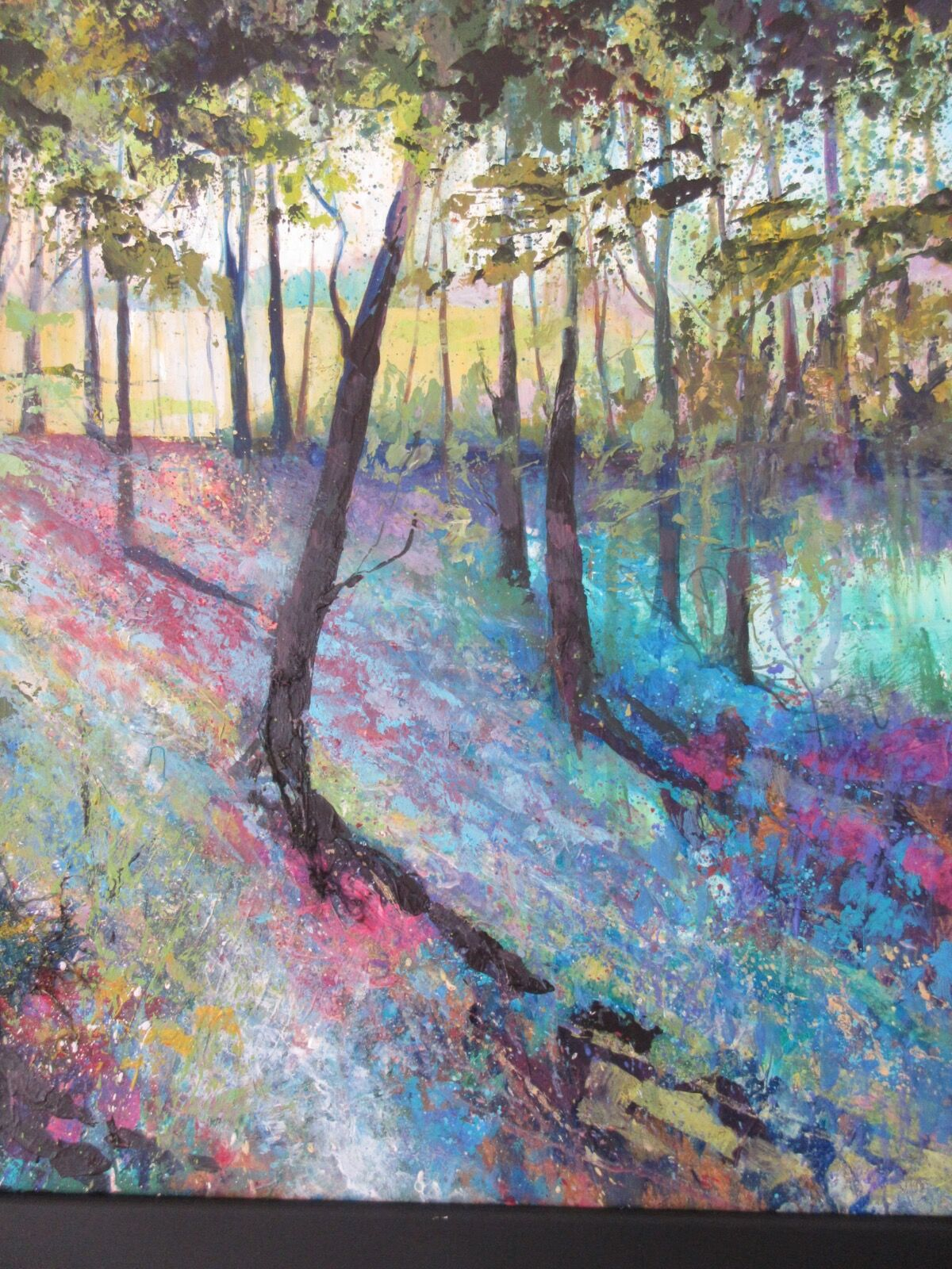 Spring Wood painting