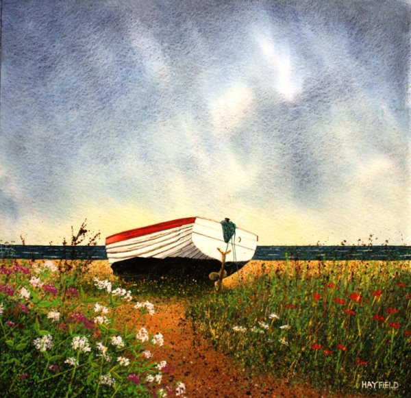 Old Boat on the Beach (Sold)
