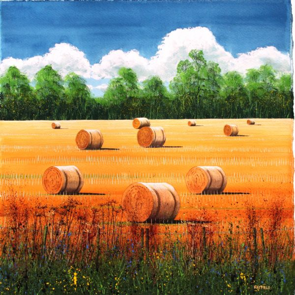 Field Edge and Bales